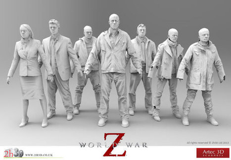 Artec 3D Scanners Bring Zombie Invasion to the Big Screen - Computer Graphics World | Top CAD Experts updates | Scoop.it