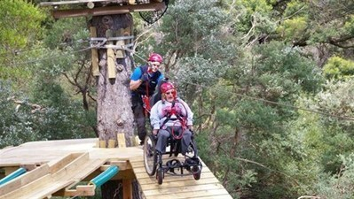 Universal access ropes course launch in Australian first - YMCA Victoria | Xperiential Stuff | Scoop.it