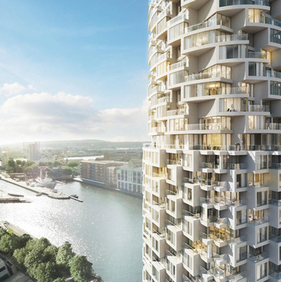 Herzog & de Meuron design skyscraper for London's Canary Wharf | Architecture and Architectural Jobs | Scoop.it