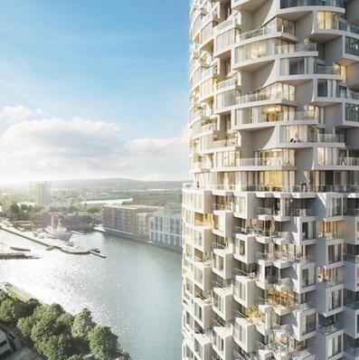 Herzog & de Meuron design skyscraper for London's Canary Wharf | Architecture and Architectural Jobs | Scoop.it