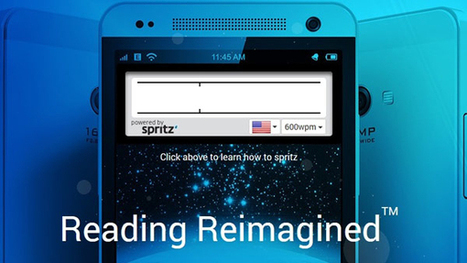 Spritz: A Shocking New App That Can Make You Smarter | Radius | Scoop.it