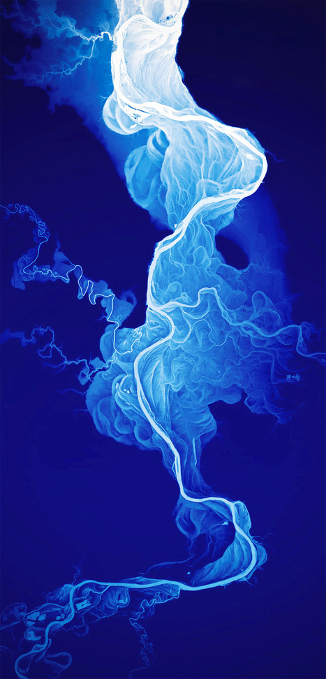 Art Meets Cartography: The 15,000-Year History of a River in Oregon Rendered in Data | Professional Communication | Scoop.it