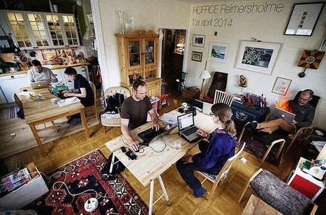 Trabalhar a partir de casa, mas com companhia e não na tua casa | Criatividade, inovação, marketing | Scoop.it