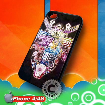 Sugar Skull Cross The Ghetto Gospel iPhone 4 4S Case for sale | Customizable Smart Phone Cases | Scoop.it