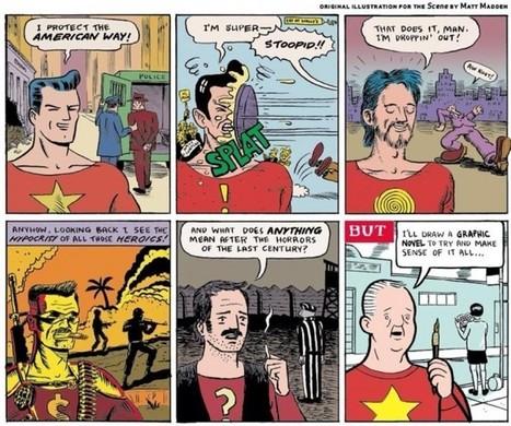 La bande dessinée américaine en six cases ?   Picturing it   To Art or not to Art?   Scoop.it