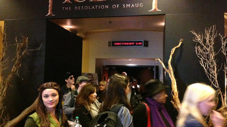 Peter Jackson Unveils 20 Minutes of New Footage at 'Hobbit' Fan Event | 'The Hobbit' Film | Scoop.it