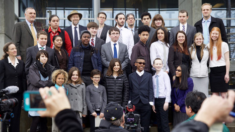 Kids clear key hurdle in their federal climate change lawsuit   Lauri's Environment Scope   Scoop.it