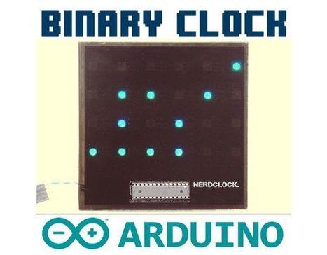 The NerdClock: An RGB Binary Clock [Arduino Software] | Raspberry Pi | Scoop.it