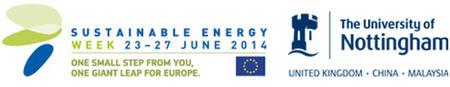 EU Sustainable Energy Week  at The University of Nottingham | Sustainable Universities | Scoop.it