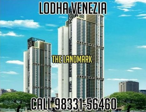 Lodha Venezia Lodha Luxury Group | Real Estate | Scoop.it