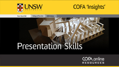 Presentation Skills | COFA Online Gateway | E-Learning and Online Teaching | Scoop.it