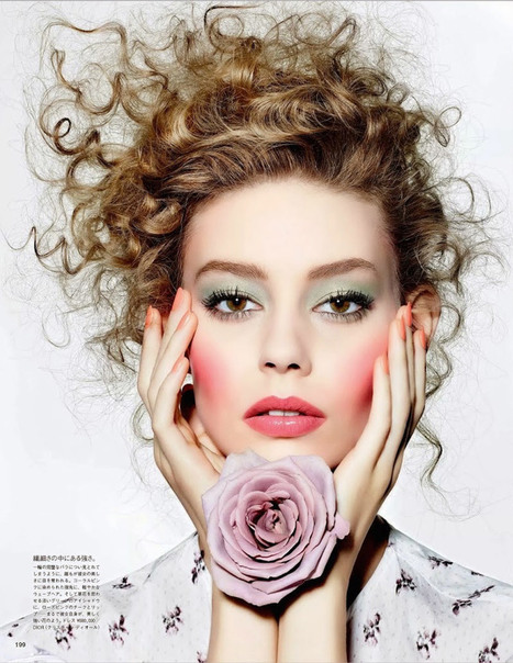 Ondrea Hardin for VOGUE Japan March 2015 by Richard Burbridge | Female Magazine | Scoop.it