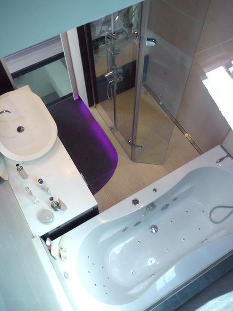 Une salle de bains cocooning   Inspiration bain   l'univers de la salle ...   Salle de bains   Scoop.it