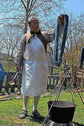 Spin over to Fall Flax and Textile Day at Colonial Pennsylvania Plantation ... - Delaware County Daily Times | Maori weaving | Scoop.it