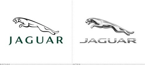 Jaguar introduces revised logo and typeface | timms brand design | Scoop.it