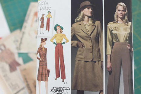 Tips for Choosing Vintage Patterns (Or Drafting Your Own!)   Sew Artfully Simple   Scoop.it