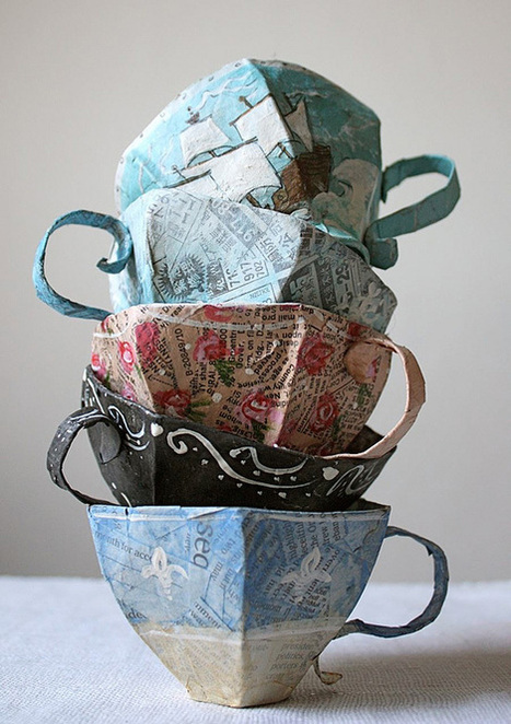 Teacup Tower | Creative Photo | The Design Inspiration | Créations artistiques | Scoop.it