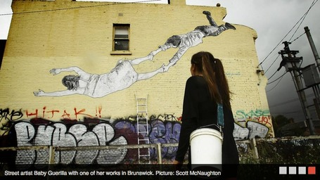 Download Urban art attack: Melbourne's graffiti guerillas hit main
