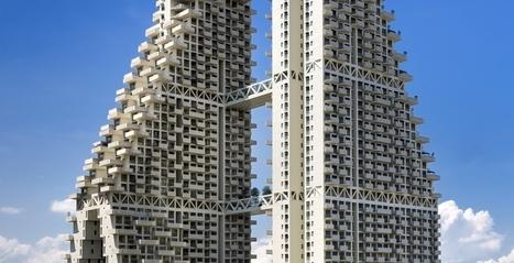 Trapsgewijze woontoren biedt uitzicht, zonlicht en verticaal groen | Built Environment | Zuyd Bibliotheek | Scoop.it