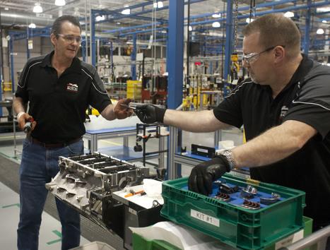 GM Builds a Corvette LS9 as its 100-Millionth Small-Block Engine..   Vette-News   Scoop.it