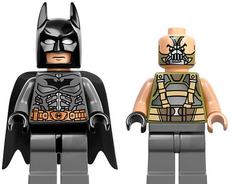 LEGO The Dark Knight Rises Minifigures Rise | Conception | Scoop.it