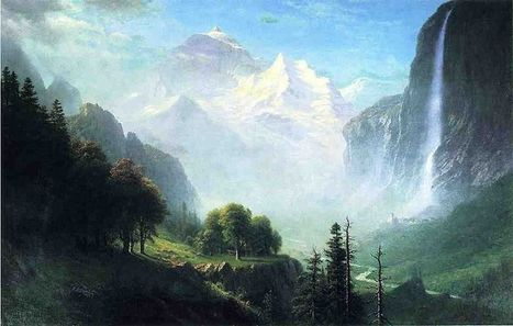 Life and Paintings of Albert Bierstadt (1830 - 1902) | About Art & Creativity | Scoop.it