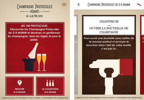 Comment sabrer le champagne - Graphisme & interactivité blog par ... | Winegate | Scoop.it