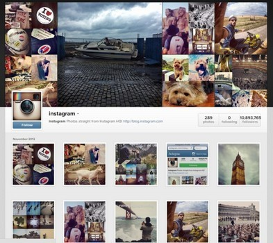 Instagram rolls out web profiles | Marketing Planning and Strategy | Scoop.it