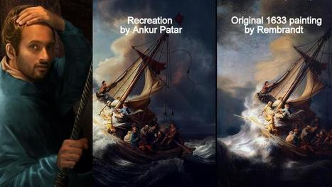 Adobe chooses Ankur Patar to recreate the world's lost masterpieces | Business Video Directory | Scoop.it