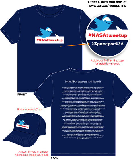 NASAtweetup Tweep-shirts & Hats   NASA TweetUp   Scoop.it