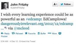 EdCamp   Dangerously Irrelevant   EdcampFoundation   Scoop.it