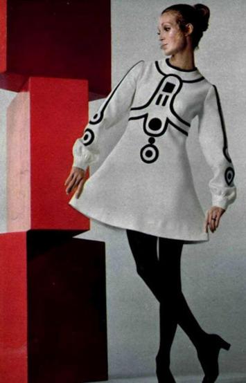 Couture Allure Vintage Fashion: 1960s Mod Era Master Designer Louis Feraud | Antiques & Vintage Collectibles | Scoop.it