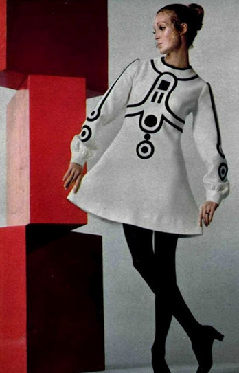 Couture Allure Vintage Fashion: 1960s Mod Era Master Designer Louis Feraud | Antiques & Vintage Collectibles | Scoop.it