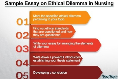 Sample Essay on Ethical Dilemma in Nursing | Essay Writing Help | Scoop.it