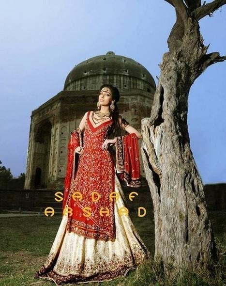 Sadaf Arshad Bridal Wear Dresses 2013-2014 for Women | Style360Fashion(Style Around the World) | style and fashion around the world | Scoop.it