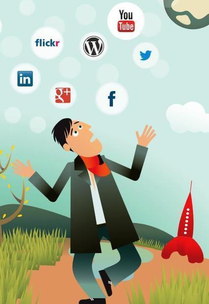Guide réseaux sociaux en entreprise : responsabilité, bonnes pratiques et conseils I Jean-Luc Raymond | Entretiens Professionnels | Scoop.it