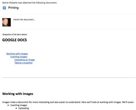 Google Docs – Sharing, emailing & downloading | Using Google Drive in the classroom | Scoop.it