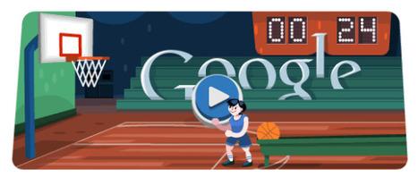 Londra 2012, col nuovo doodle animato su Google si gioca a Basket! | InTime - Social Media Magazine | Scoop.it