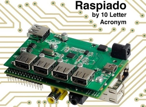 Raspiado Raspberry Pi USB Hub Launches On Kickstarter (video) - Geeky gadgets | Raspberry Pi | Scoop.it