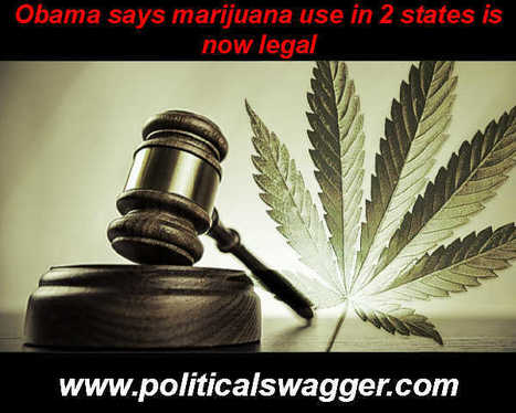 Obama won't go after marijuana use in 2 states | Political News Updates | Scoop.it