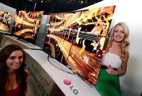 LG annonce un téléviseur OLED à écran souple | Technologies | Scoop.it