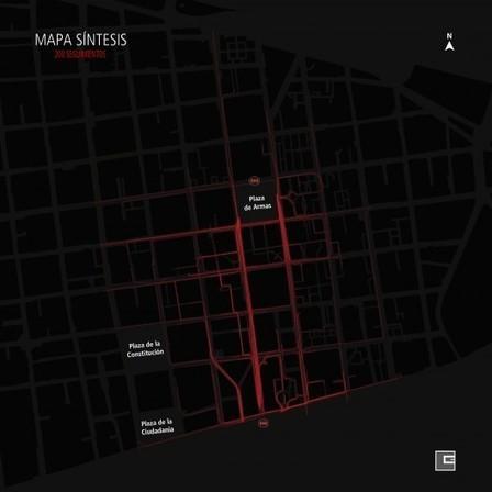 Mapas: Navegación Peatonal en el Centro histórico de Santiago, Chile | Plataforma Urbana | Urban mobility... | Scoop.it