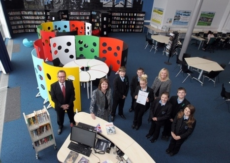 School library receives top design award - Northampton Chronicle & Echo | School library design, teaching and learning areas, shelving | Scoop.it