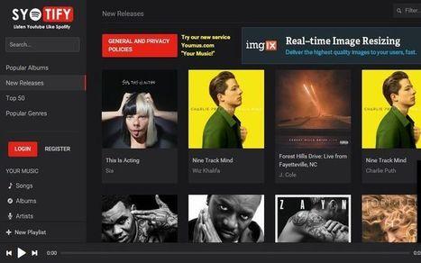 Syotify: escucha música en streaming bajo apariencia Spotify | ARTE, ARTISTAS E INNOVACIÓN TECNOLÓGICA | Scoop.it