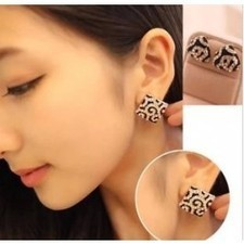 Latest Style Shiny Rhinstone Leopard Square Triangle Earrings A0470 | fashion and cheap jewelry | Scoop.it