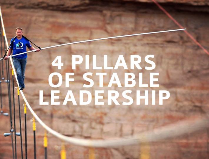 The 4 Pillars Of Stable Leadership | Coaching Leaders | Scoop.it