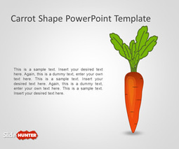 Free Carrot Shape PowerPoint Template - Free PowerPoint Templates - SlideHunter.com | Free PowerPoint Templates 1 | Scoop.it