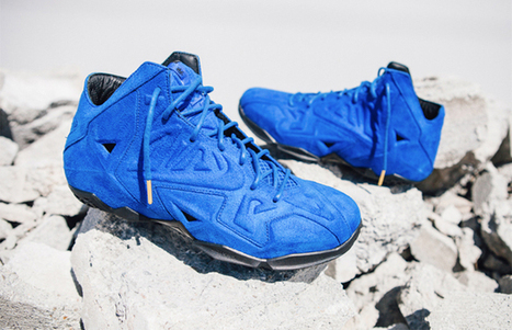"""You Won't Crush LeBron in His """"Blue Suede"""" XI EXTs 