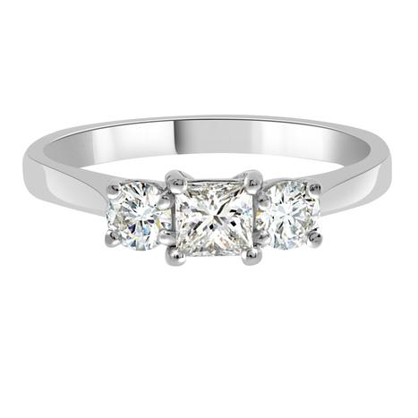 Abigail 3 Stone Engagement Ring - Loyes Diamonds dublin 3 stone ring | Engagement Rings Dublin. | Scoop.it