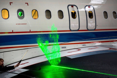 How Lasers Will Help Us Make Planes Quieter and More Fuel-Efficient | Particle Image Velocimetry | Scoop.it
